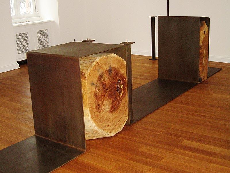 Altar aus Cortenstahl